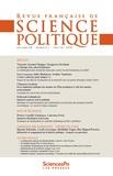 Collectif - Revue française de science politique Volume 68 N°1 : .