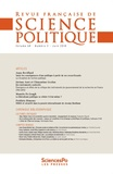 Collectif - Revue française de science politique Volume 68 N°3, juill : .