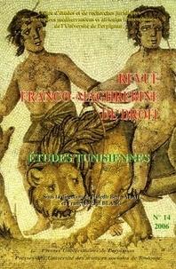 Hafedh Ben Salah et François-Paul Blanc - Revue franco-maghrébine de droit N° 14-2006 : Etudes tunisiennes.