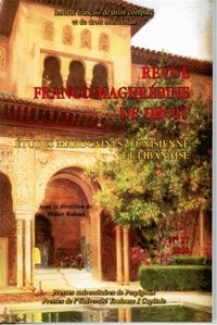 Didier Baisset - Revue franco-maghrébine de droit N° 17, 2010 : Etudes marocaines, tunisienne et libanaise.