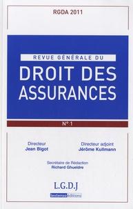 Jean Bigot et Jérôme Kullmann - Revue générale du droit des assurances N° 82, 2011 : .