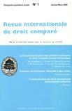 Etienne Picard - Revue internationale de droit comparé, année 2002, N° 1 à 4.