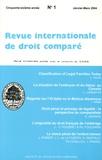 Etienne Picard - Revue internationale de droit comparé, année 2004, N° 1 à 4.