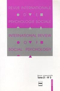 Gabriel Mugny - Revue Internationale de Psychologie Sociale N° 21-3 : .
