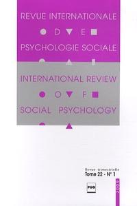 Gabriel Mugny - Revue Internationale de Psychologie Sociale N° 22-1, 2009 : .