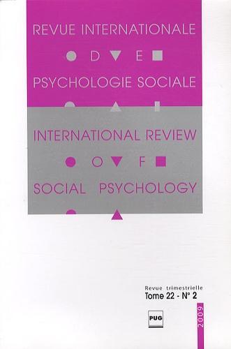 Gabriel Mugny - Revue Internationale de Psychologie Sociale N° 22-2, 2009 : .