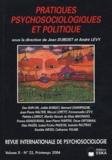 Jean Dubost et André Lévy - Revue internationale de psychosociologie N° 22, Printemps 200 : Pratiques psychosociologiques et politique.