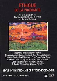 Laurent Bibard et Maurice Thévenet - Revue internationale de psychosociologie N° 34, Hiver 2008 : Ethique de la proximité.