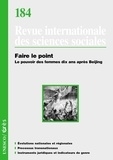 John Crowley - Revue internationale des sciences sociales 184 : Faire le point, Le pouvoir des femmes dix ans après Beijing.
