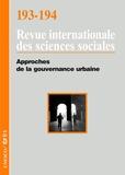 John Crowley - Revue internationale des sciences sociales N° 193-194 : Approches de la gouvernance urbaine.