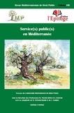 Mathieu Touzeil-Divina et Stavroula Ktistaki - Revue méditerranéenne de droit public N° 8 : Service(s) public(s) en Méditerranée.