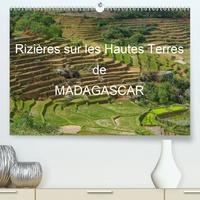 Francis Goussard - Rizières sur les Hautes Terres de Madagascar (Calendrier supérieur 2020 DIN A2 horizontal) - Paysages de rizières en terrasses de Madagascar (Calendrier mensuel, 14 Pages ).