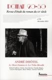 Philippe Blondeau et Marie-Hélène Boblet - Roman 20-50 N° 52, décembre 2011 : Le mont Damion et la Tribu Bécaille d'André Dhôtel.