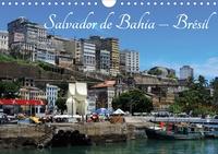 Martiniano Ferraz - Salvador de Bahia – Brésil (Calendrier mural 2020 DIN A4 horizontal) - L'une des plus belles villes historiques du Brésil. (Calendrier mensuel, 14 Pages ).
