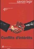 Frédéric Lebaron - Savoir/Agir N° 41, septembre 201 : Conflits d'intérêts.