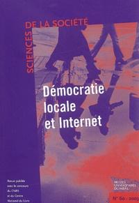Robert Boure et Gérard Loiseau - Sciences de la Société N° 60 Octobre 2003 : Démocratie locale et Internet.