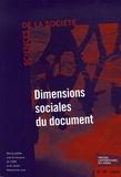 Jean Meyriat et Regina Maria Marteleto - Sciences de la Société N° 68, Mai 2006 : Dimensions sociales du document.