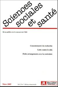 Pascal Ducournau et Jean-Philippe Cobbaut - Sciences Sociales et Santé Volume 23 N° 1, Mars : .