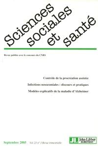 Pascale Bourret et Geneviève Paicheler - Sciences Sociales et Santé Volume 23 N° 3, Sept : .
