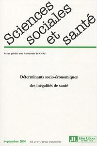 Martine Bungener et Philippe Ulmann - Sciences Sociales et Santé Volume 24 N° 3, Sept : Déterminants socio-économiques des inégalités de santé.