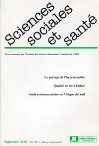 Francis Chateauraynaud et William Dab - Sciences Sociales et Santé Volume 28 N° 3, Sept : .