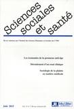 Hélène Bretin et Frédéric Le Marcis - Sciences Sociales et Santé Volume 33 N° 2, Juin : .