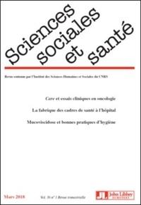 Marcel Calvez et Janine Pierret - Sciences Sociales et Santé Volume 36 N° 1, mars : .