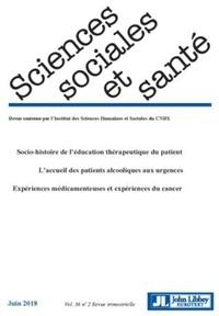 Patrick Castel et Emmanuel Henry - Sciences Sociales et Santé Volume 36 N° 2, juin : .