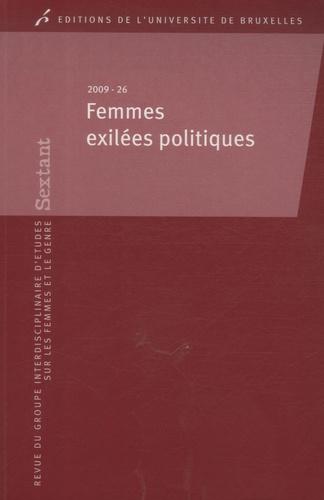 Anne Morelli - Sextant N° 26/2009 : Femmes exilées politiques.