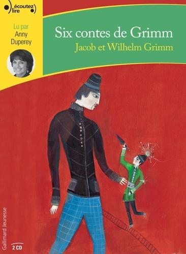Six contes de Grimm  avec 2 CD audio