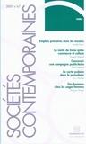 Aurélie Peyrin - Sociétés contemporaines N° 67, 2007 : .