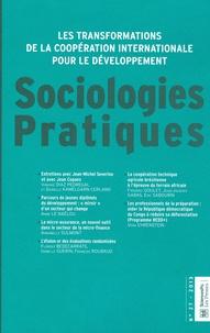Virginie Diaz Pedregal et Danielle Kamelgarn-Cerland - Sociologies Pratiques N° 27/2013 : Les transformations de la coopération internationale pour le développement : enjeux, acteurs, pratiques.