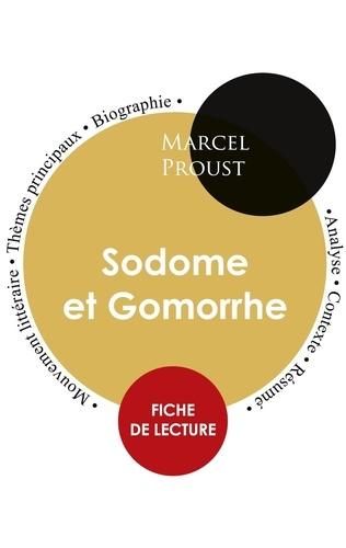 Marcel Proust - Sodome et Gomorrhe - Fiche de lecture.