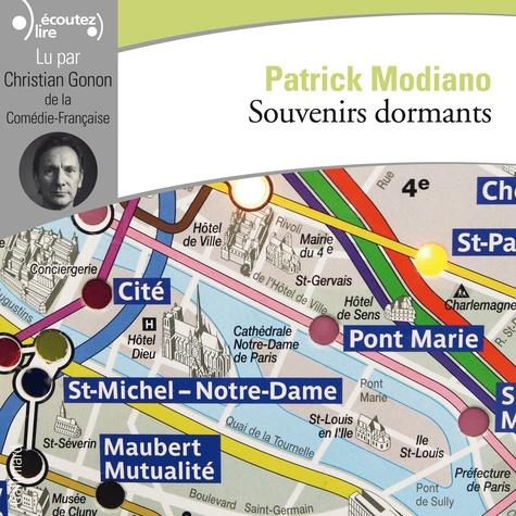 Patrick Modiano - Souvenirs dormants. 1 CD audio MP3