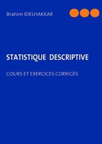 Livre Pdf Statistique Descriptive Cours Et Exercices Corriges Moncoinlivresque