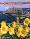 Laurence Barthe et Isabelle Duvernoy - Sud-Ouest Européen N° 35, 2013 : Agriculture et développement territorial - Partie 2.