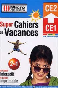 Micro Application - Super Cahiers de Vacances CE1-CE2. - CD-ROM.