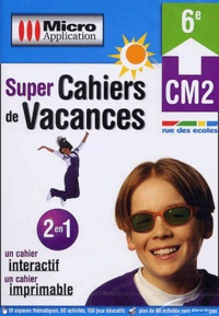 Micro Application - Super Cahiers de Vacances CM2-6e. 1 Cédérom