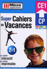 Micro Application - Super Cahiers de Vacances CP-CE1. - CD-ROM.