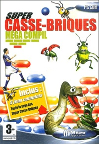Editions Micro Application - Super Casse-Brique méga compil - CD-ROM.
