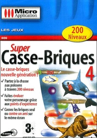 Editions Micro Application - Super Casse-Briques 4 - CD-ROM.
