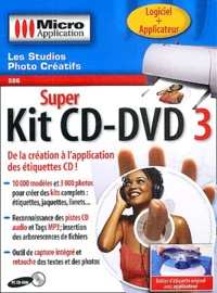 Collectif - Super Kit CD-DVD 3 - CD-Rom.