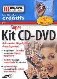 Micro Application - Super Kit CD-DVD. - CD-ROM.