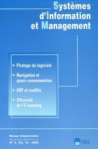 Frantz Rowe et Anne Chartier - Systèmes d'Information et Management Volume 10 N° 4/2005 : .