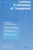 Yves Pigneur - Systèmes d'Information et Management Volume 15 N° 1/2010 : .