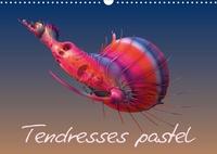 K.a. Redinard - Tendresses pastel (Calendrier mural 2020 DIN A3 horizontal) - Compositions fractales numériques (Calendrier mensuel, 14 Pages ).