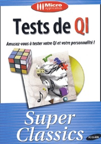 Collectif - Tests de QI - CD-ROM.