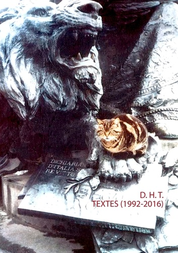 Terence Den Hoed - Textes 1992-2016.
