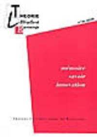 Noëlle Batt - Théorie, littérature, épistémologie N° 26, 2009 : Mémoire, savoir, innovation.