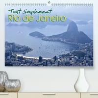 Martiniano Ferraz - Tout simplement Rio de Janeiro(Premium, hochwertiger DIN A2 Wandkalender 2020, Kunstdruck in Hochglanz) - Calendrier avec des photos de Rio de Janeiro. (Calendrier mensuel, 14 Pages ).